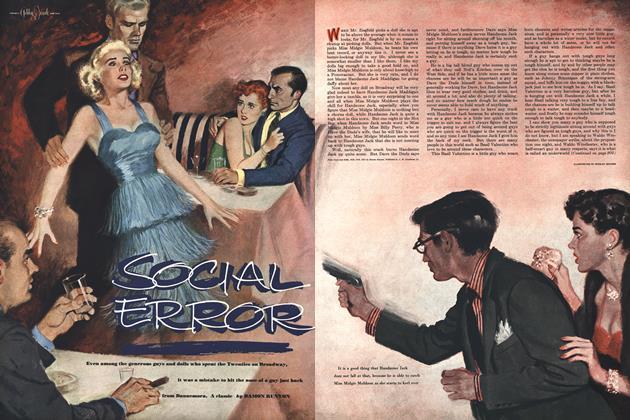 Article Preview: Social Error, DECEMBER, 1951 1951   Esquire