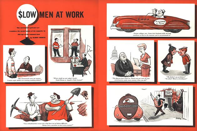 Article Preview: Slow Men at Work, DECEMBER, 1951 1951 | Esquire