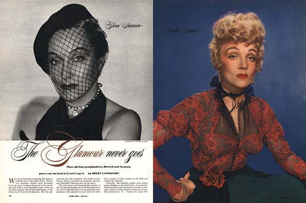 Article Preview: The Glamour Never Goes, March 1952 | Esquire