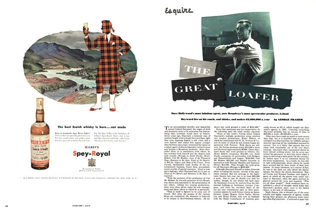 Article Preview: The Great Loafer, APRIL, 1952 1952 | Esquire