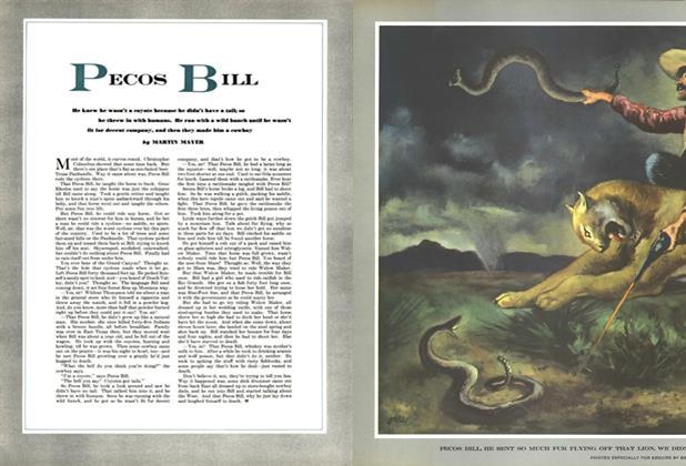 Article Preview: Pecos Bill, APRIL, 1952 1952 | Esquire