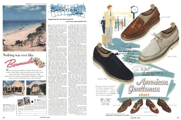 Article Preview: Vacation Now, May 1952 | Esquire