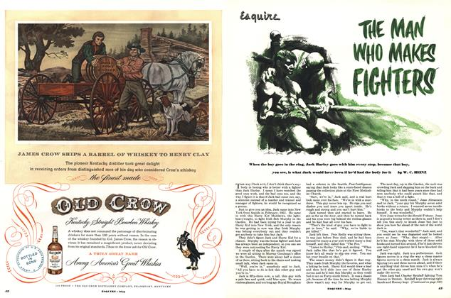 Article Preview: The Man Who Makes Fighters, May 1952 | Esquire