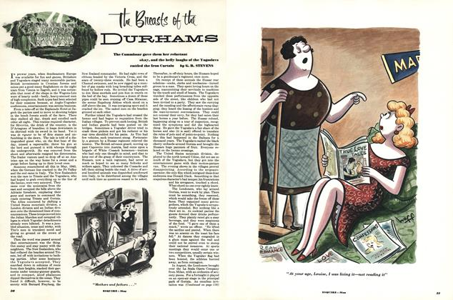 Article Preview: The Breasts of the Durhams, MAY, 1952 1952   Esquire