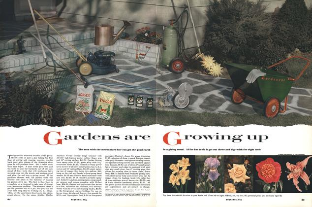 Article Preview: Gardens Are Growing Up, MAY, 1952 1952   Esquire