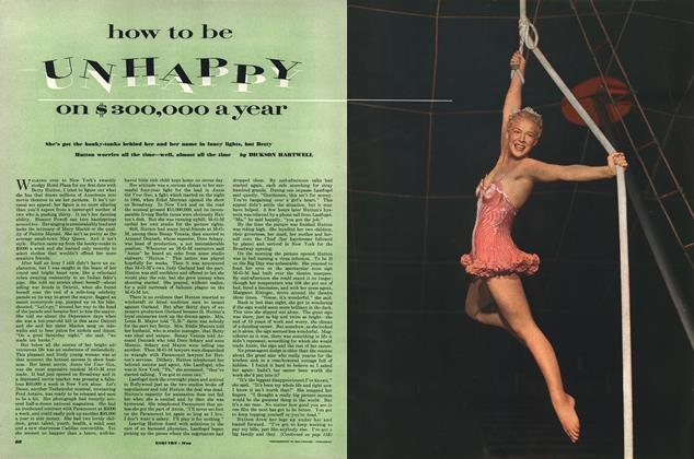 Article Preview: How to Be Unhappy on $300,000 a Year, MAY, 1952 1952 | Esquire