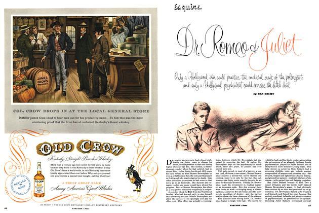 Article Preview: Dr. Romeo & Juliet, JUNE, 1952 1952 | Esquire