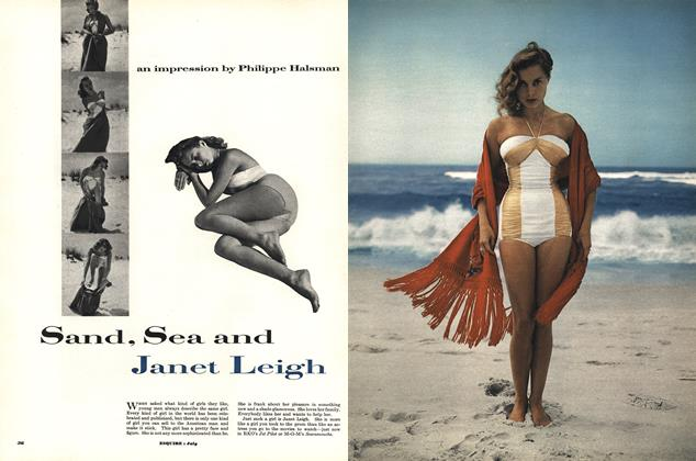 Article Preview: Sand, Sea and Janet Leigh, JULY, 1952 1952 | Esquire