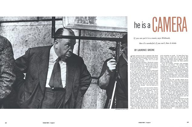 Article Preview: He Is a Camera, AUGUST, 1952 1952 | Esquire