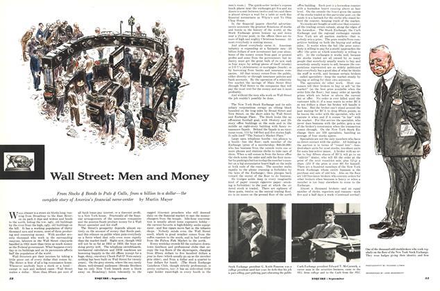Wall Street: Men and Money