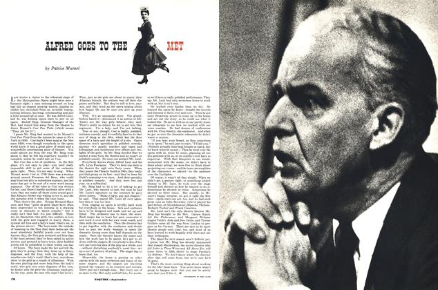 Article Preview: ALFRED GOES TO THE MET, SEPTEMBER, 1952 1952 | Esquire