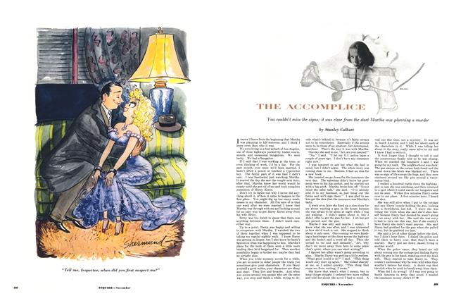 Article Preview: The Accompilice, NOVEMBER, 1952 1952 | Esquire