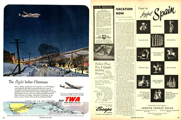 Article Preview: Vacation Now, DECEMBER, 1952 1952 | Esquire