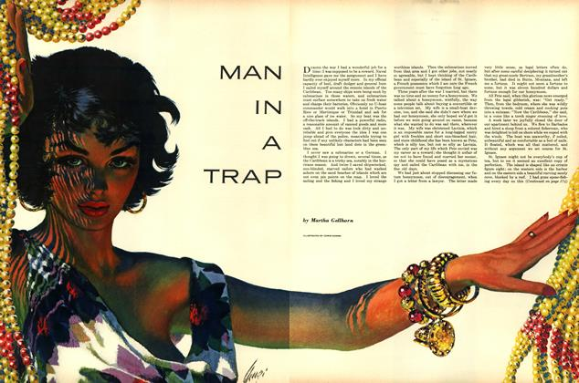 Article Preview: Man in a Trap, DECEMBER, 1952 1952 | Esquire