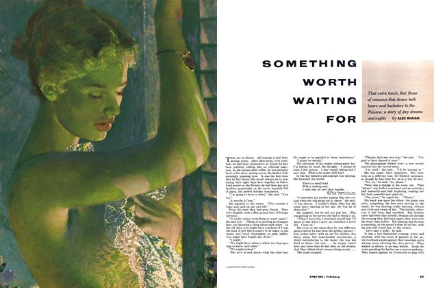 Article Preview: Something Worth Waiting For, FEBRUARY, 1953 1953 | Esquire