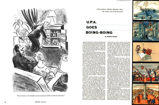 Article Preview: U.p.a. Goes Boing-boing, FEBRUARY, 1953 1953 | Esquire