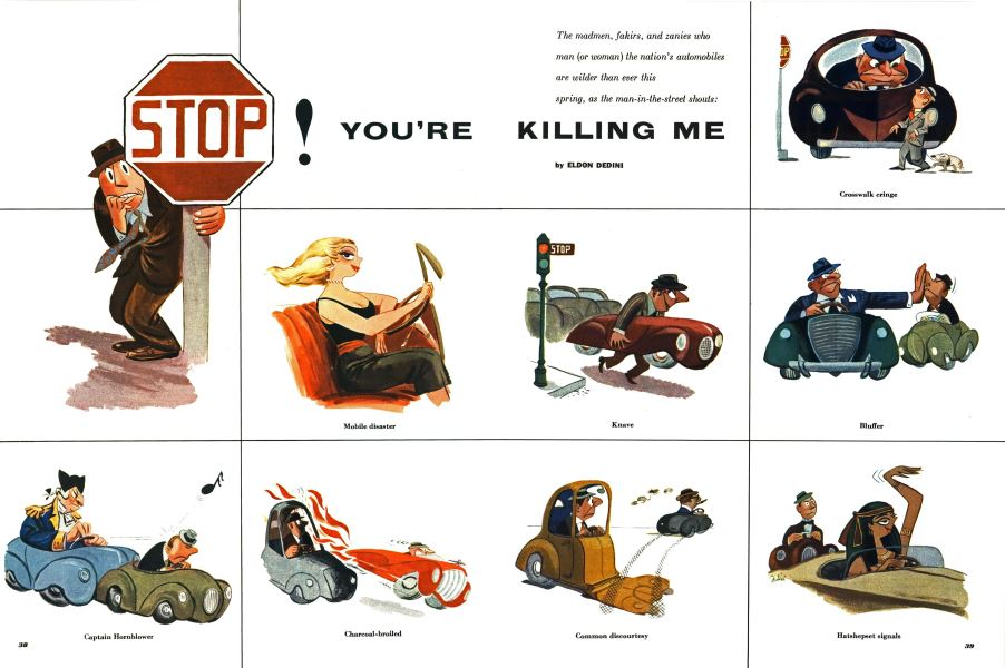 Stop! You're Killing Me | Esquire | MARCH, 1953