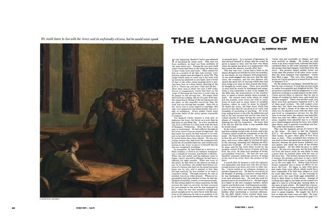 Article Preview: The Language of Men, April 1953 | Esquire