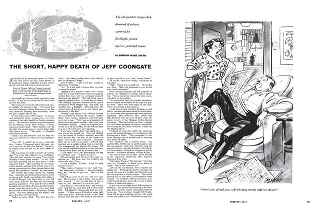 The Short, Happy Death of Jeff Coongate