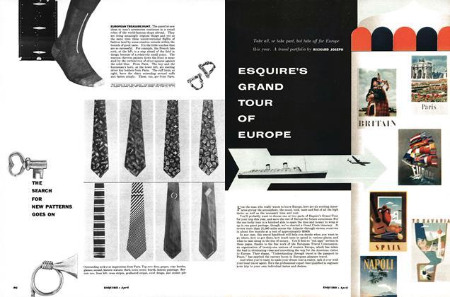Esquire's Grand Tour of Europe