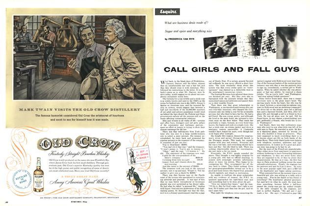 Call Girls and Fall Guys
