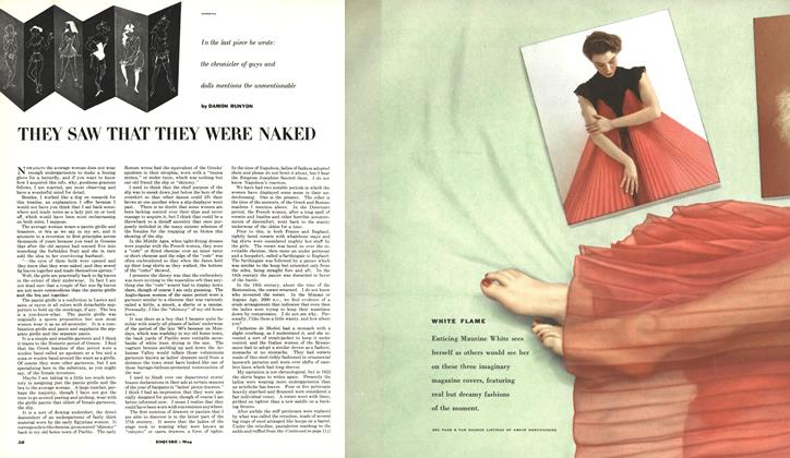 Article Preview: They Saw That They Were Naked, MAY, 1953 1953 | Esquire