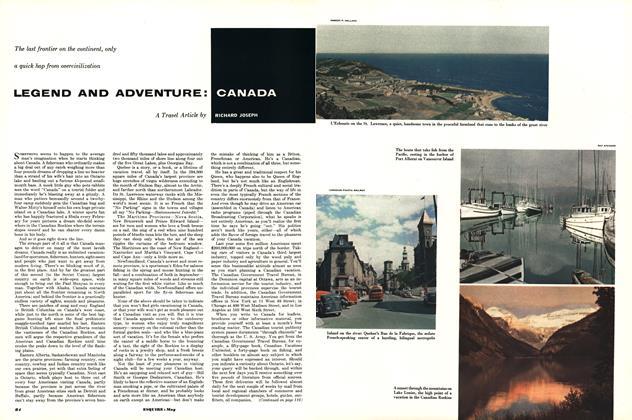 Legend and Adventure: Canada