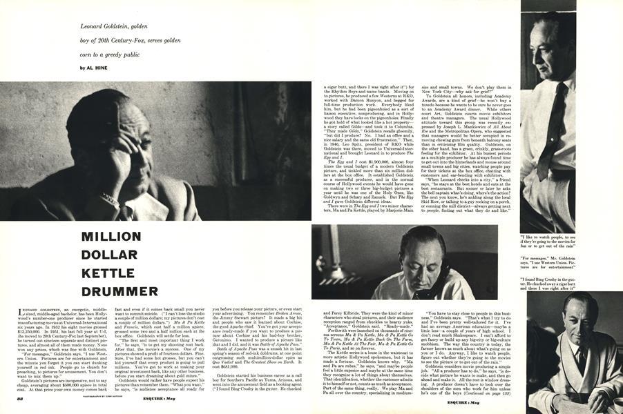 Million Dollar Kettle Drummer   Esquire   MAY, 1953