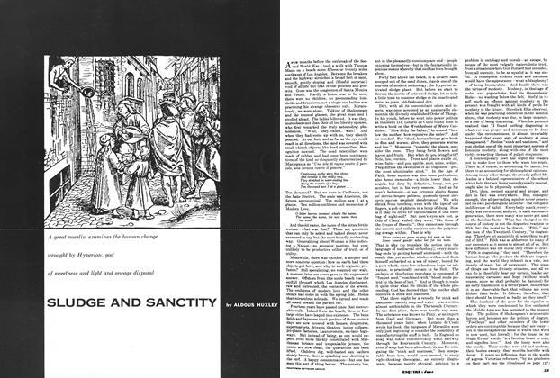 Article Preview: Sludge and Sanctity, JUNE, 1953 1953 | Esquire