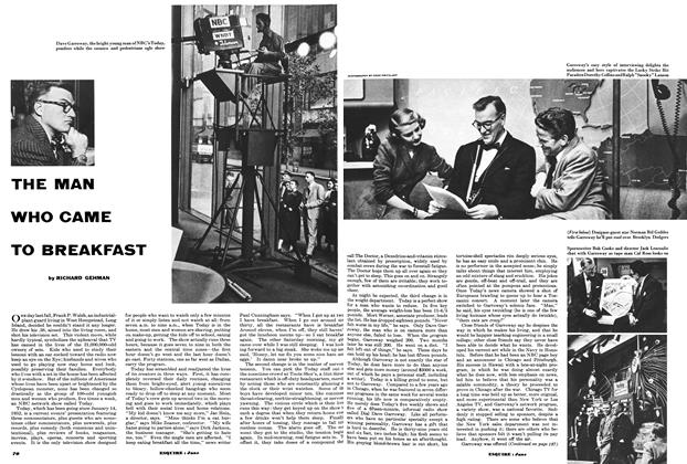Article Preview: The Man Who Came to Breakfast, JUNE, 1953 1953 | Esquire