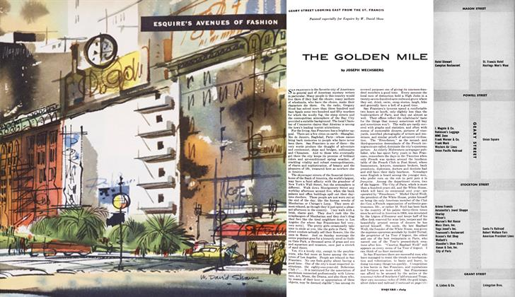 Article Preview: The Golden Mile, July 1953   Esquire