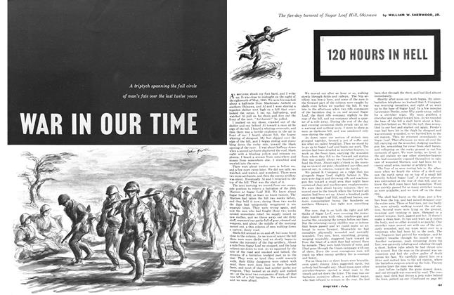 Article Preview: I. 120 Hours in Hell, July 1953   Esquire