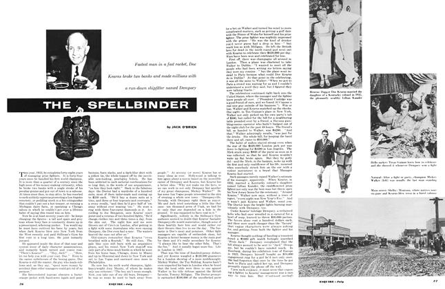 Article Preview: The Spellbinder, July 1953   Esquire