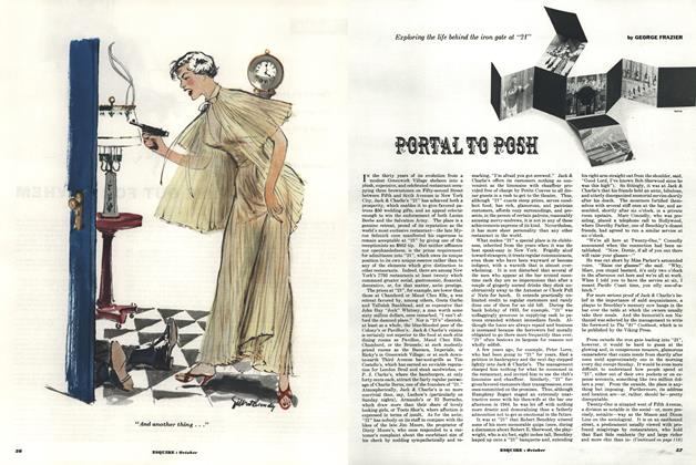 Article Preview: Portal to Posh, OCTOBER, 1953 1953 | Esquire