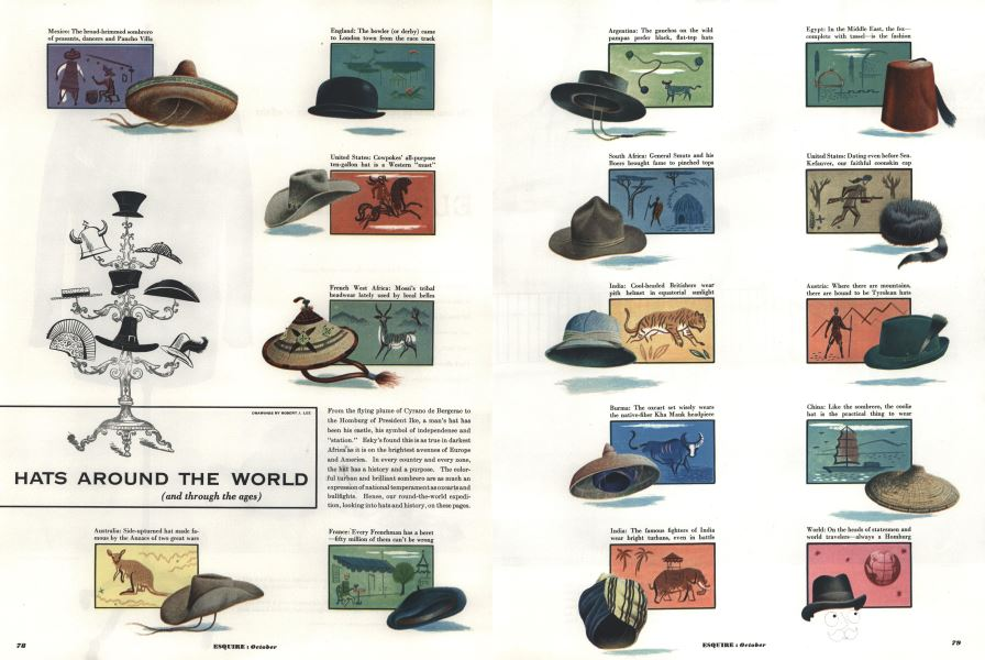 Hats Around the World  b4a9fdcd677