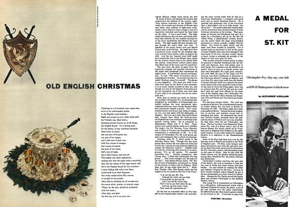Article Preview: A Medal for St. Kit, DECEMBER, 1953 1953 | Esquire