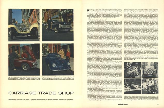 Article Preview: CARRIAGE-TRADE SHOP, JANUARY, 1954 1954 | Esquire