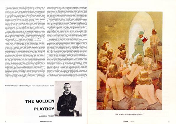 Article Preview: The Golden Playboy, FEBRUARY, 1954 1954 | Esquire
