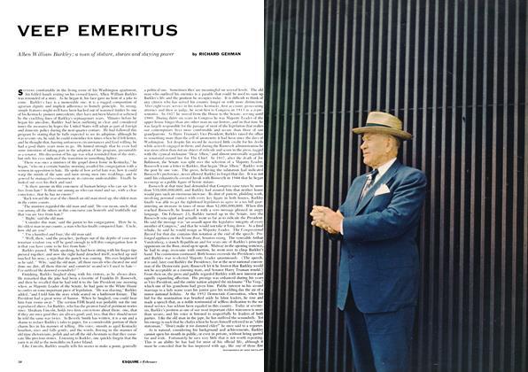 Article Preview: Veep Emeritus, FEBRUARY, 1954 1954   Esquire