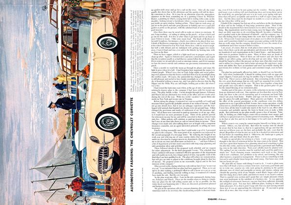 Article Preview: Automotive Fashions, FEBRUARY, 1954 1954 | Esquire