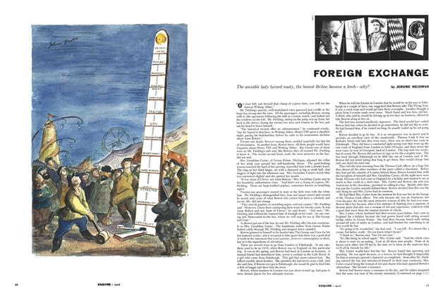 Article Preview: Foreign Exchange, APRIL, 1954 1954 | Esquire