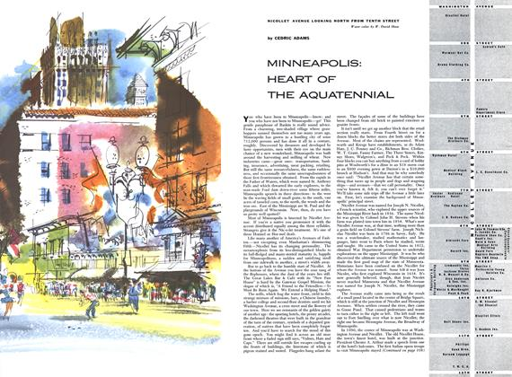 Article Preview: Minneapolis: Heart of the Aquatennial, JULY 1954 1954 | Esquire