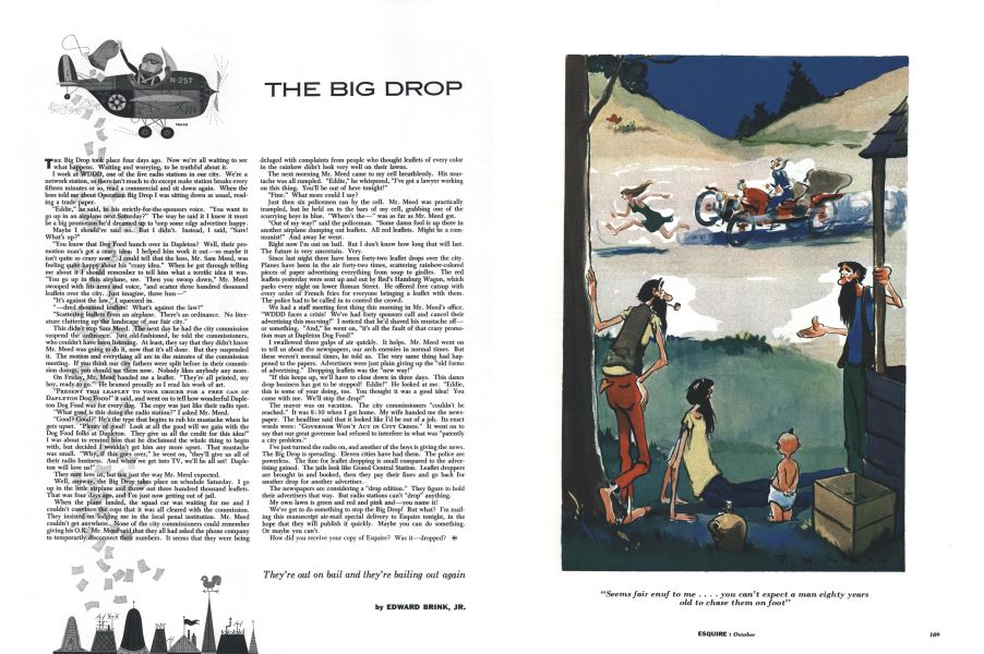 55ca4fa711df The Big Drop EDWARD BRINK October 1 1954