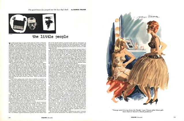 Article Preview: The Little People, DECEMBER, 1954 1954   Esquire
