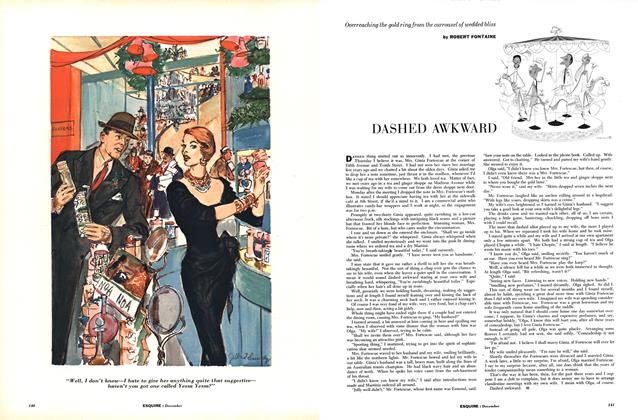 Article Preview: Dashed Awkward, DECEMBER, 1954 1954 | Esquire