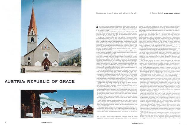 Article Preview: Austria: Republic of Grace, JANUARY, 1955 1955 | Esquire