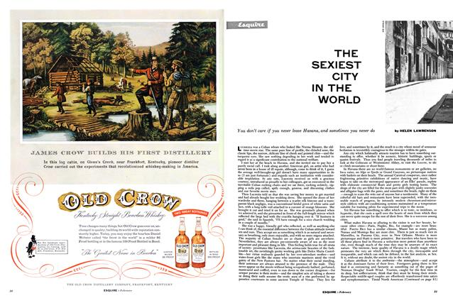 Article Preview: The Sexiest City in the World, FEBRUARY, 1955 1955 | Esquire