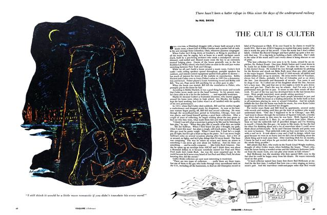 Article Preview: The Cult Is Culter, FEBRUARY, 1955 1955 | Esquire