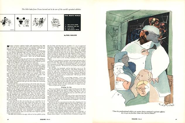 Article Preview: This Man's World, MARCH, 1955 1955   Esquire