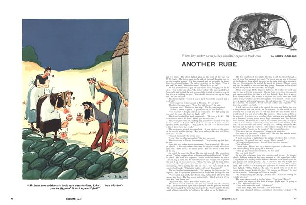Article Preview: Another Rube, APRIL, 1955 1955 | Esquire